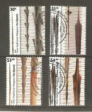 2015   NIUE  - TRADITIONAL WEAPONS - STAMP SET - USED