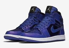 Nike Air Jordan Retro 1 High SZ 10.5 Deep Royal Patent Leather OG 332550-420