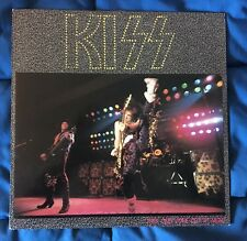 KISS They Only Come Out At Night Rare Double LP 33 BOOTLEG LIVE Complete