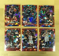 2019-20 Panini Prizm NBA Basketball RED Ice Prizm U You Pick Complete Your Set