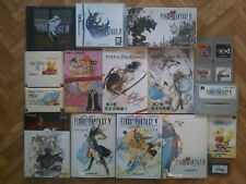 Lot FINAL FANTASY I II III IV V VI - Game Boy / Famicom / Super FC / Nintendo DS