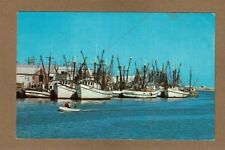 Shrimp Boats of Brownsville and Port Isabel,TX Texas,bring in Cargoes Pub Dexter