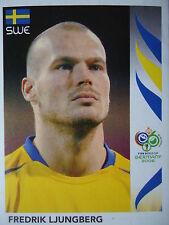 Panini 161 Fredrik Ljungberg Schweden FIFA WM 2006 Germany
