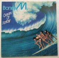 BONEY M. LP OCEANS OF FANTASY +POSTER 33 GIRI ITALY 1979 DURIUM DAI 30333 NM/EX