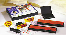 RUBBER STAMP PRINTING KIT DIY SHINY S200 2 SIZES TYPE NEW EASY TO USE
