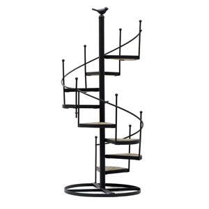 Spiral Ladder Plant Stand 8 Tier Staircase Flower Pot Planter Display Shelf Rack