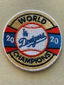 "2020 L.A. DODGERS WORLD SERIES CHAMPIONS 2.5"" CAP PATCH LIMITED CHAMPIONSHIP"