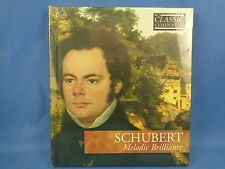 Schubert Melodic Brillance Classic Composers (CD, Hardcover Booklet, 2007)