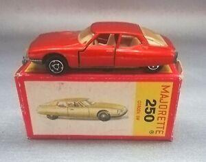 Majorette Citroen SM Nr.250 in OVP (Box)