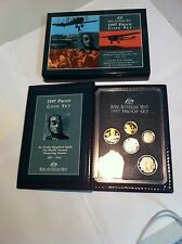 1997  AUST PROOF SET OF 6 COINS   SIR CHARLES KINGSFORD SMITH