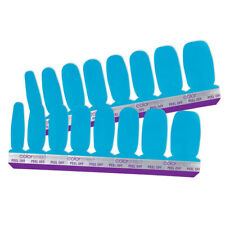 Colorstreet Authentic 100% Nail Polish Strips BLUE DAPEST