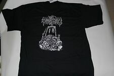 VINTAGE VOMITORY ROTTING HILL XL SHIRT RARE! DEATH METAL AUTOPSY GRAVE DISMEMBER