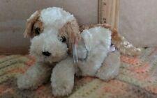 Ty Beanie Babies Banjo the Puppy Dog, 2004, PE Pellets,  (ON TT GOLDEN TY)