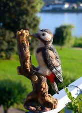 Gartenfigur Schwalbe Vogel Wanddeko Dekofigur 18x21cm lebensgroß Vogel  NEU