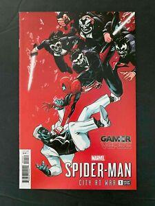 SPIDER-MAN CITY AT WAR  #1C  MARVEL COMICS 2019 NM+  TSANG VARIANT COVER