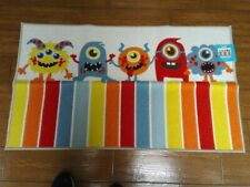 NWT DREAM STREET MONSTER RUG AND SHOWER CURTAIN KIDS