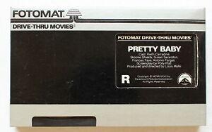 PRETTY BABY ~ Rare FOTOMAT DRIVE-THRU BETA ~ Brooke Shields ~Louis Malle NOT VHS
