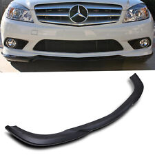 AMG LOOK FRONT LOWER BUMPER LIP VALANCE FOR MERCEDES BENZ C CLASS W204 08-11