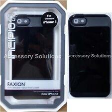 Incipio iPhone SE 5 5S Faxion Case Cover Black / Black, IPH-823