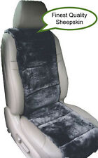 SHEEPSKIN SEAT COVERS ONE SEAT VEST INSERT FINEST QUALITY AUSTRALIAN CHARCOAL ©