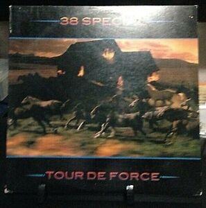 38 SPECIAL Tour de Force Album Released 1983 Vinyl/Record Collection USA