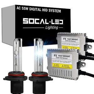 SOCAL-LED 55W 9007 HID Kit Metal Ballast Bright Headlight for 02 Dodge Ram 1500