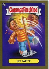 Garbage Pail Kids Mini Cards 2013 Gold Parallel Base Card 86b Hit MITT
