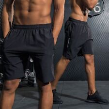 Men Running Short Pants Quick Dry Workout Fitness Tennis Training Sport Jogging