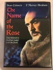 THE NAME OF THE ROSE RARE OOP DVD Jean-Jacques Annaud SEAN CONNERY LIKE NEW 1986