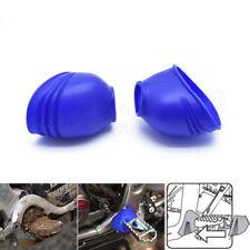 Blue Foot Peg Covers Spring Boots Yamaha XT TTR WR YZ 85 125 230 250R 250F 450F