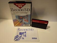 Zaxxon 3D für Sega Master System OVP