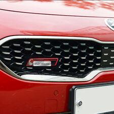 Front Hood Radiator Grill GT Point Emblem Logo Badge for KIA 2017 - 2018 Stinger