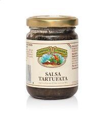 Trüffelsauce 180g - Handwerkliche Spezialitäten Umbria Italy - Liebe für gute