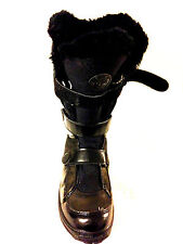 Timberland Black Patent Mukluk insulated Winter boots Sz. 6- Blk..