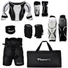 Junior Hockey Player Starter Set 7 Pieces New Equipment Pads Gloves Bag Pants