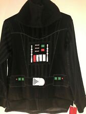 Disney Star Wars Darth Vader Full Zip Hoodie And/or Costume With Cape Med boys