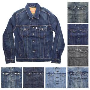 Levi's Levi Strauss Adult Mens Classic Denim Jean Trucker Jacket