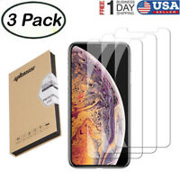 for iPhone 11 Pro Max X Xs XR 6s 7 8 6 Plus Screen Protector Tempered Glass Film