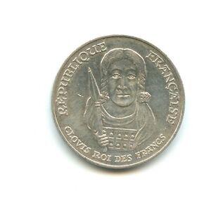 100 francs argent Clovis 1996 n°E5527
