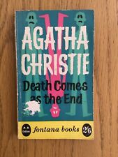 Vintage Fontana Paperback Book Death Comes At The End Agatha Christie freepost