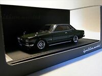 ignition model 1/43 Nissan Skyline 2000 GT-X (KGC10) Green Resin Model IG0380