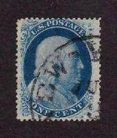 United States stamp #24, used, VF-XF  SCV $38