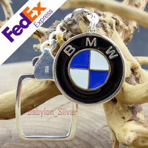 925 sterling silver BMW Turkish Handmade Key Chains Keychain Keyring
