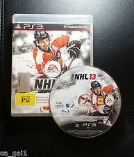 NHL 13 (Sony PlayStation 3, 2012) PS3 Game - FREE POSTAGE