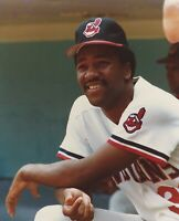 Vintage 8 X 10 Photo of Cleveland Indians Joe Carter- Great for Autographs