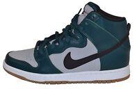 Nike DUNK HIGH PRO SB Dark Atomic Teal Black-Wolf Grey Skate (249) Men's Shoes