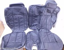 2006-2010 HUMMER H3 ORIGINAL Rear Seat Upholstery Take-Off's Black Leather