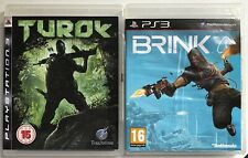 Turok + BORDE PlayStation 3 PS3 Paquete De Juegos Completo