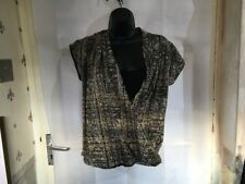 M&Co Petite Ladies Wrap Style Top Size 14, Beautiful Design, Brand New Without
