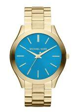 Relojes de pulsera Michael Kors Runway de acero inoxidable resistente al agua